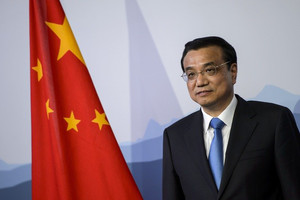 Chinese Premier, Li Keqiang, pictured in Switzerland, on May 24, 2013