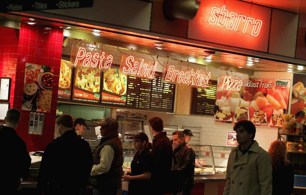 Pizza chain Sbarro files for bankruptcy again
