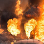 One killed in Brazil giant fuel depot blaze