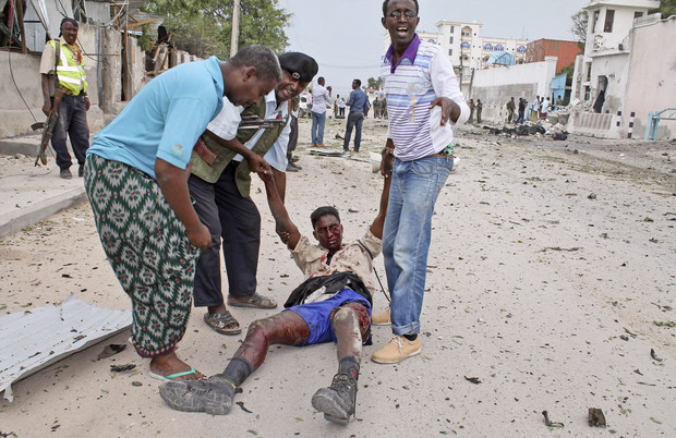 16 dead: Militants infiltrate UN's Somalia office