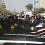 Iraqi women protest against proposed Islamic law in Iraq