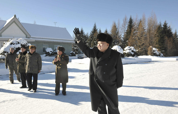 North Korean leader Kim Jong Un visits the 991 Unit of the KPA Air and Anti-Air Force