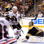 Blackhawks edge Bruins 6-5 to level Stanley Cup
