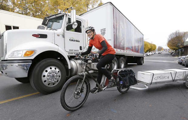 Cargo bikes the new minivan for cycling families