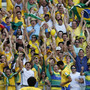 Brazil leads Mexico 1-0 at halftime in Confed Cup