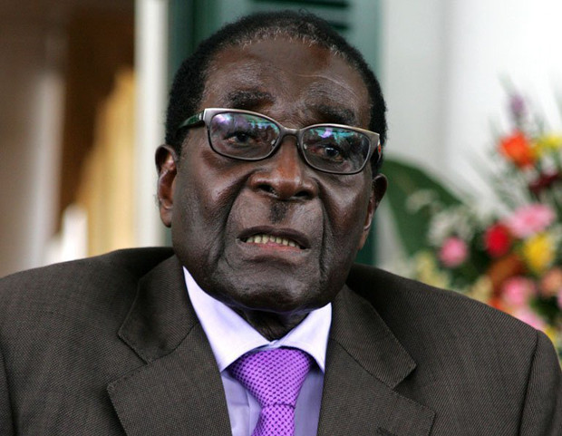 Robert Mugabe announces the conclusion of the constitution-making process in Harare on January 17, 2013