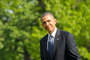 US President Barack Obama returns to the White House in Washington on May 19, 2013
