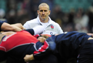 England's coach, Stuart Lancaster, pictured at Twickenham Stadium in southwest London, on March 10, 2013.