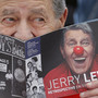 Jerry Lewis plays both straight man and clown at Cannes festival