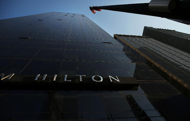 The Millenium Hilton is viewed on December 3, 2013 in New York City
