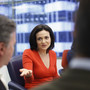 Facebook has never been stronger since IPO, Sandberg says