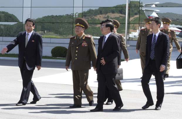 North Korea sends leader's special envoy to China