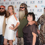 (L-R) Willie Robertson, Korie Robertson, Phil Robertson, Miss Kay Robertson and Si Robertson of Duck Dynasty attend the A+E Networks 2012 Upfront at Lincoln Center on May 9, 2012 in New York City