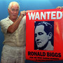 Great Train Robber Ronnie Biggs, pictured in 1994 while on the run, whose escape from jail and decades spent on the run made him one of Britain's most notorious criminals, died on Wednesday at the age of 84, media reports said