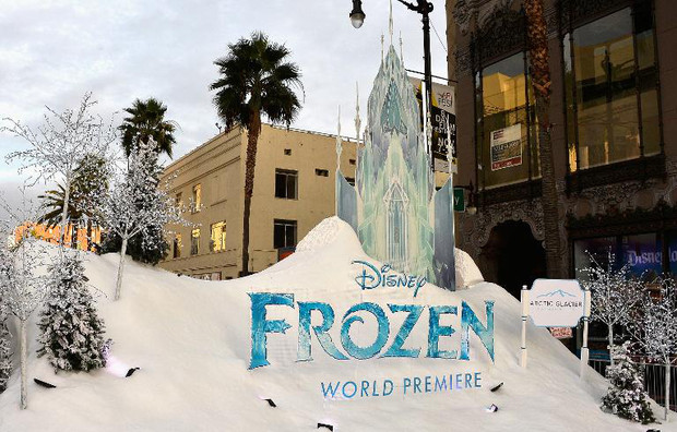 The premiere of Walt Disney Animation Studios'