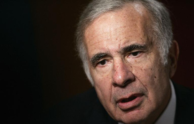 Finacier Carl Icahn is interviewed on November 2, 2005 in New York City