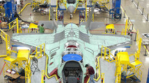 File photo of workers on the moving line and forward fuselage assembly areas for the F-35 JSF at Lockheed Martin Corp's factory located in Fort Worth, Texas