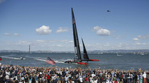 America's Cup race nineteen in San Francisco