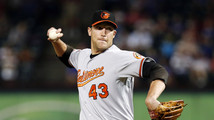 A's acquire closer Johnson, add starter Kazmir
