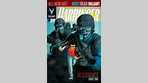Valiant's 'Harbinger' tackles conspiracy, secrecy