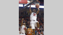 Crockett leads Texas Tech over Texas 59-53