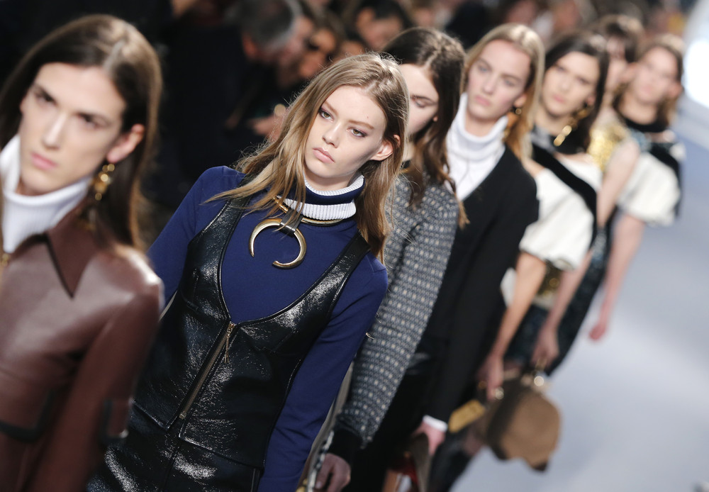 Nicolas Ghesquiere's Louis Vuitton AW14 collection salutes the past and looks to the future