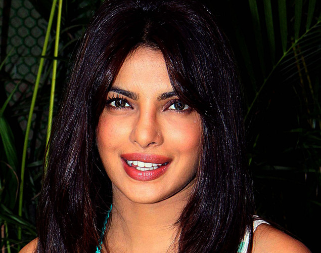Bollywood film actor Priyanka Chopra poses for a photograph during the promotion of the upcoming Hindi film 'Teri Meri Kahaani' in Mumbai.