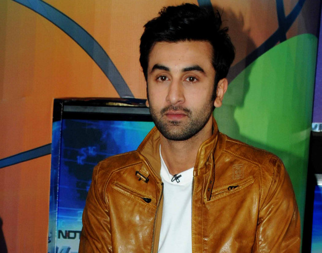 Bollywood film actor Ranbir Kapoor poses during the launch of the 'Marks For Sports' campaign created by the Fit India Movement in Mumbai.