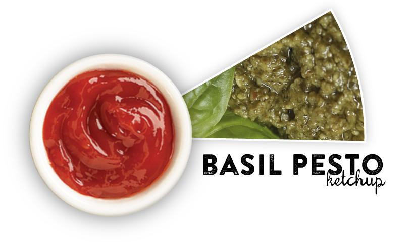 Basil Pesto Ketchup
