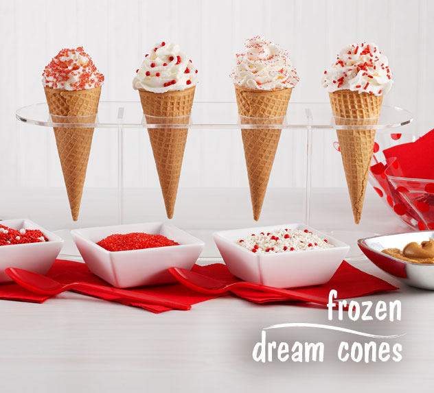 Patriotic Frozen Dream Cones
