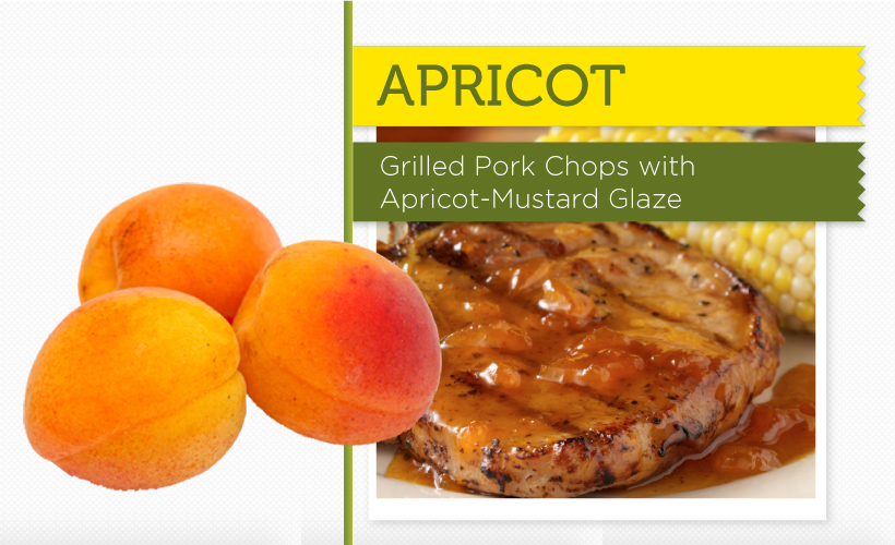 Grilled Pork Chops with Apricot-Mustard Glaze Recipe