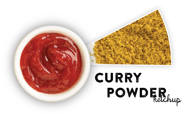 Curry Powder Ketchup
