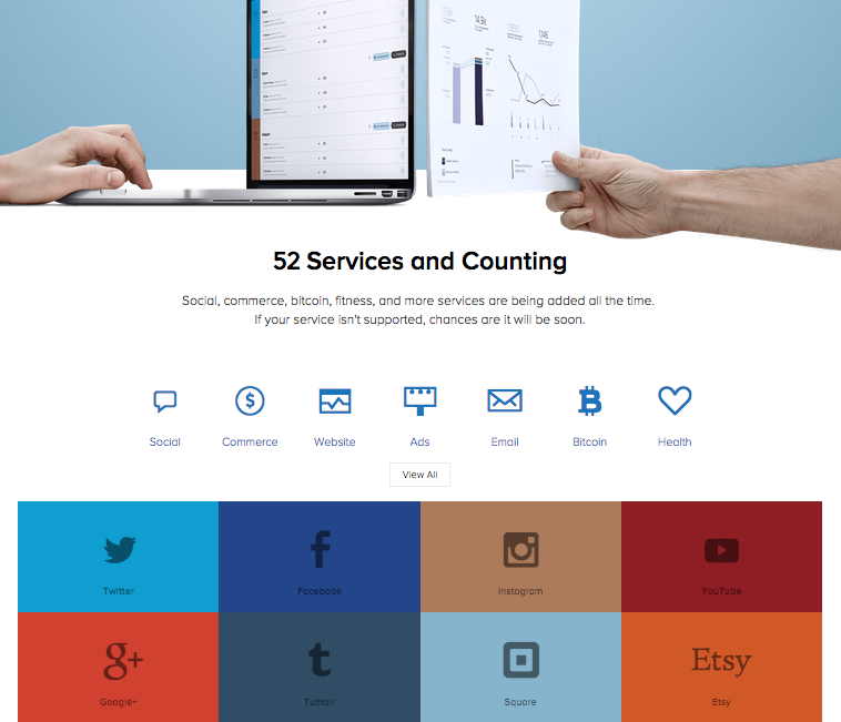 Sumall B2B Website Design