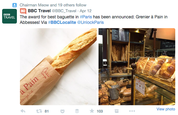 BBC Travel Twitter