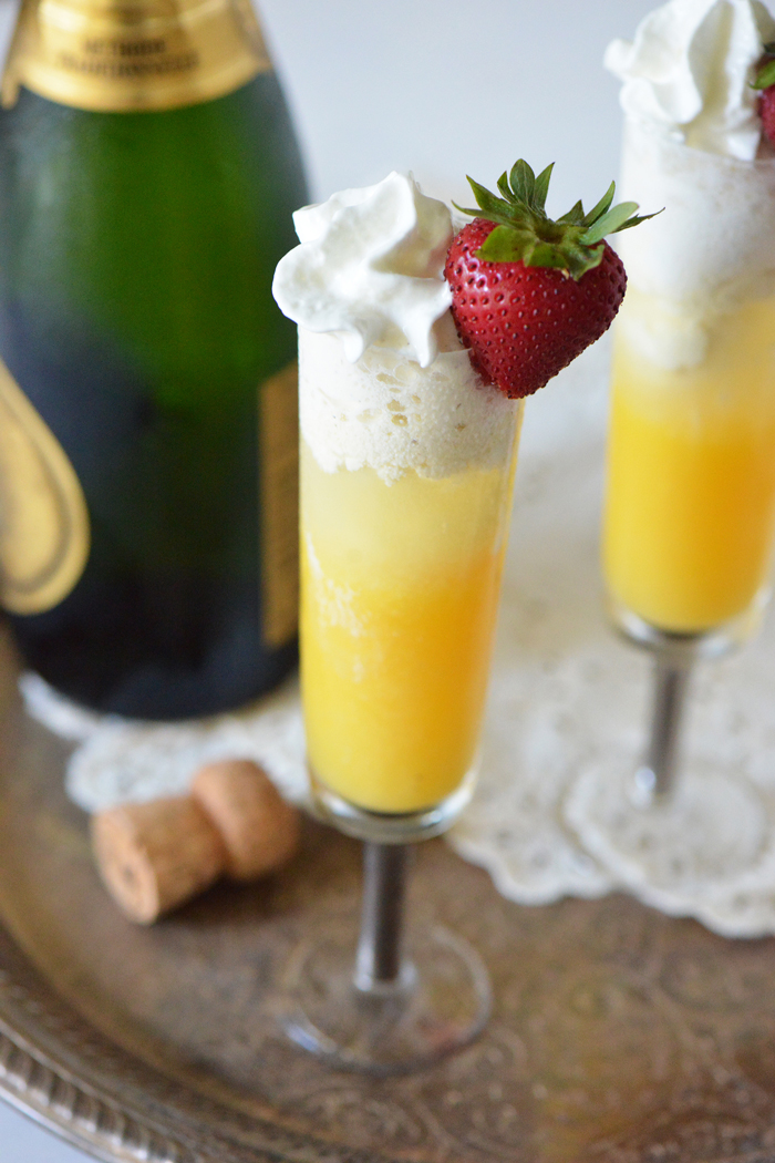 Mimosa Float Recipe for Adults