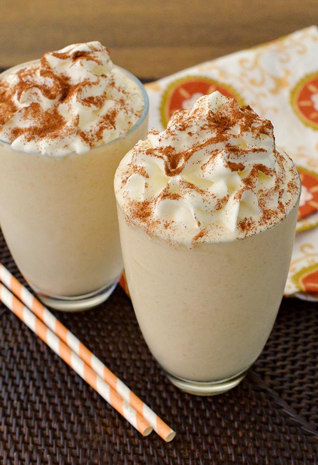 Boozy Pumpkin Pie Shake