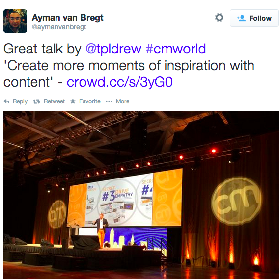 Andrew Davis Content Marketing World