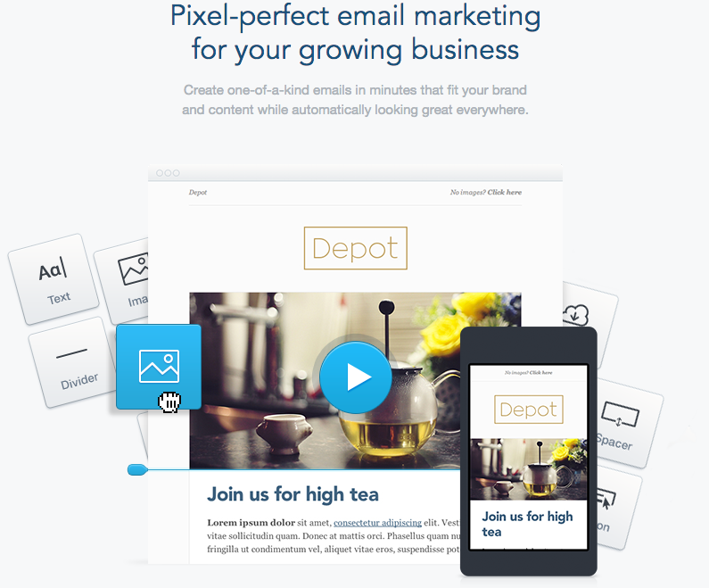 Best B2B WebSite Email Designs