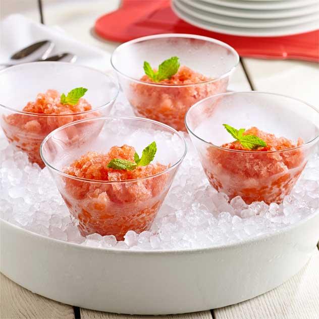 Tomato Watermelon Granita