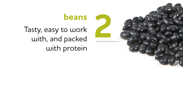 Black Beans are Packed with Protein