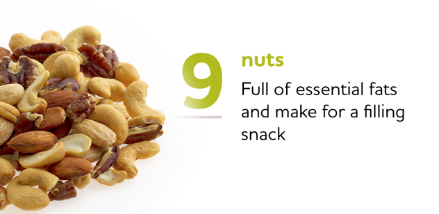 Nuts Make a Filling Snack