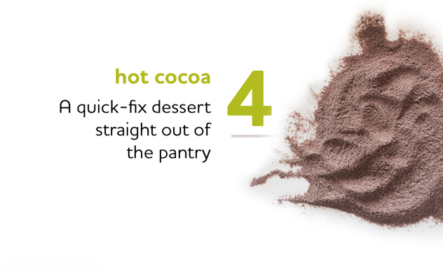 Hot Cocoa as a Quick-Fix Dessert