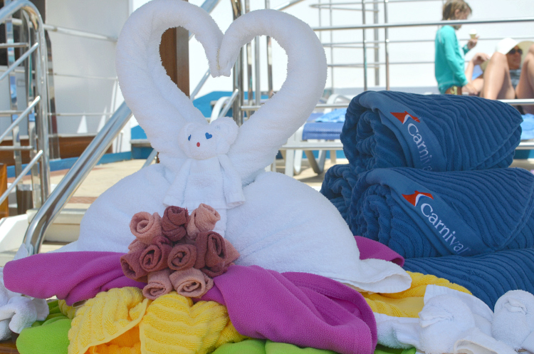carnival towel animals