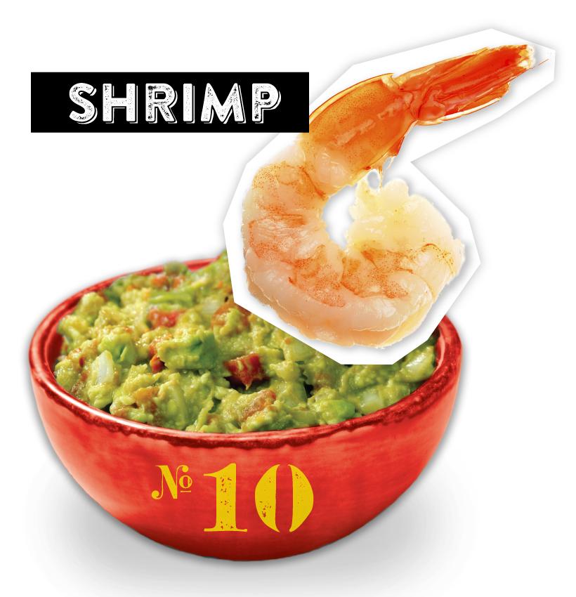 Shrimp Guacamole Dipper