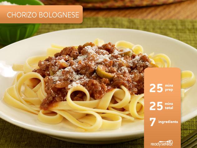 Chorizo Bolognese
