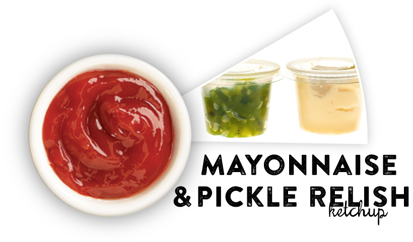 Mayonnaise & Pickle Relish Ketchup