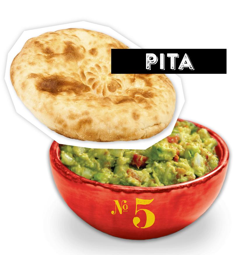 Pita Guacamole Dipper