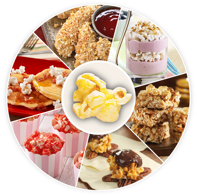 Popcorn Treat Recipes