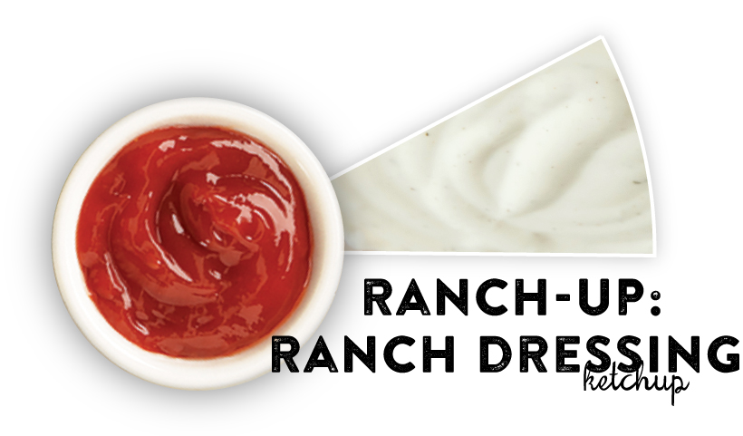 Ranch-Up: Ranch Dressing Ketchup