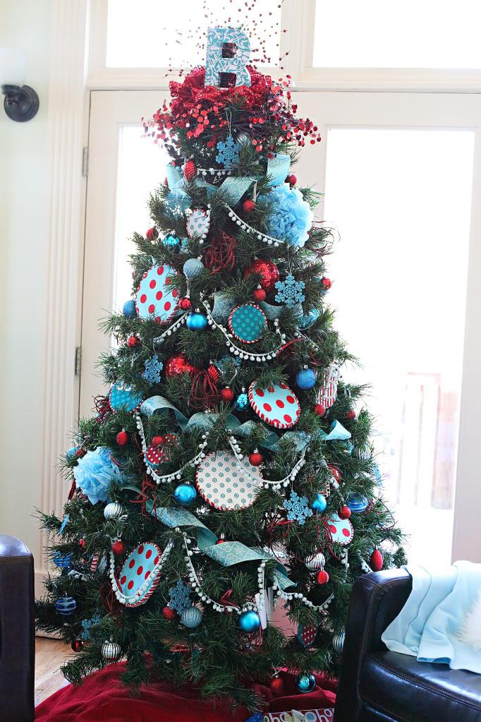 Seuss cruise for Christmas tree colour ideas